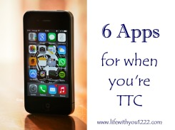 TTC apps infertility