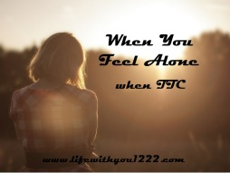 Alone lonely TTC infertility