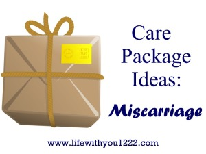 Care package miscarriage