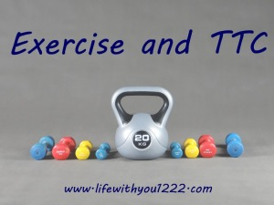 exercise TTC infertility