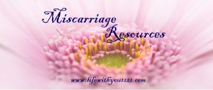 miscarriage resources